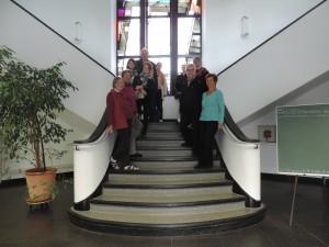 Le groupe au Béguinage