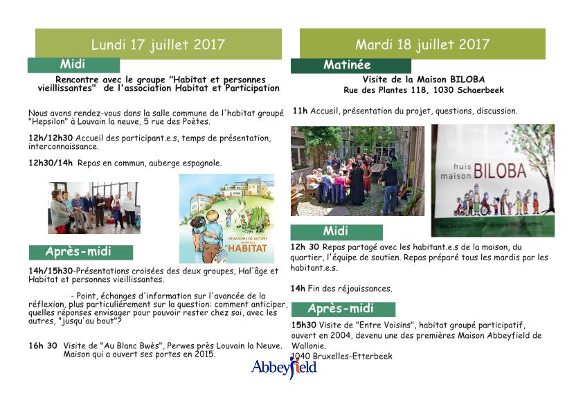 réseau belge de fondations
