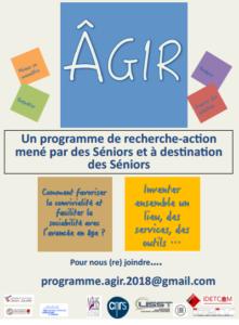 la recherche-action ÂGIR